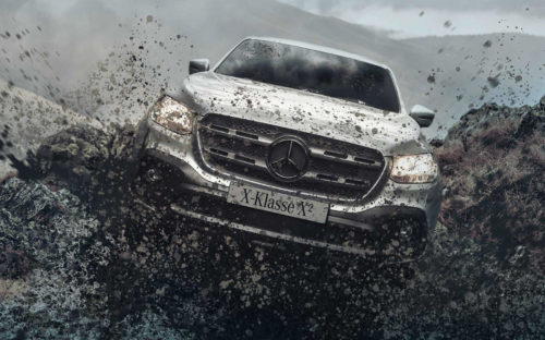 Пикап Mercedes