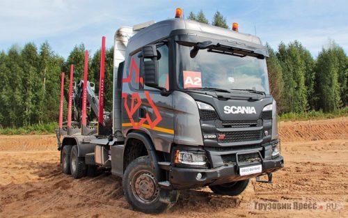 Scania сортиментовоз