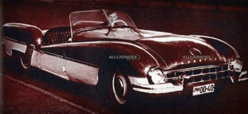 Советский спортивный автомобиль