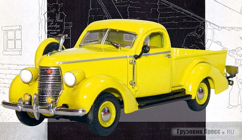 Знаменитый Studebaker K-5 Coupe-Express