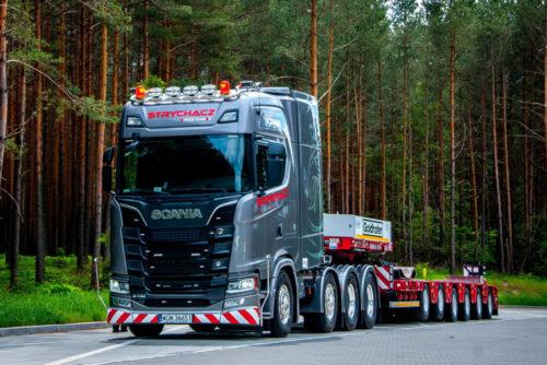 Сверхтяжелый тягач Scania