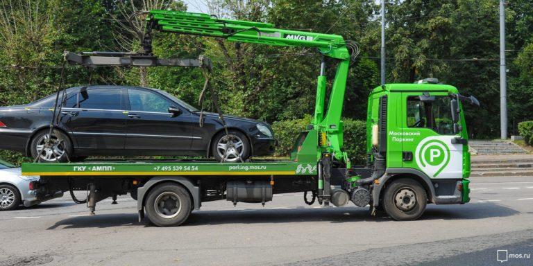 Закон об эвакуации автомобиля хотят смягчить