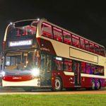 Новый двухярусный автобус на шасси Volvo