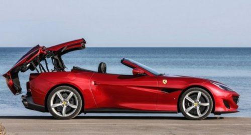 кабриолет Ferrari