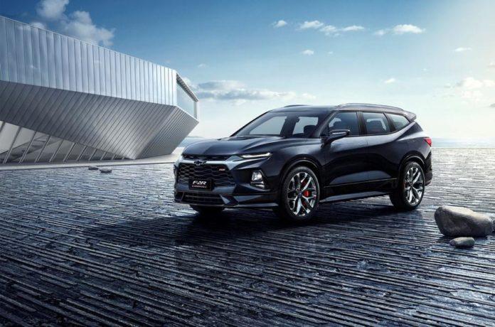 Новый кроссовер Chevrolet