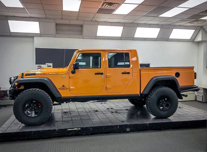 Самый проходимый пикап Jeep