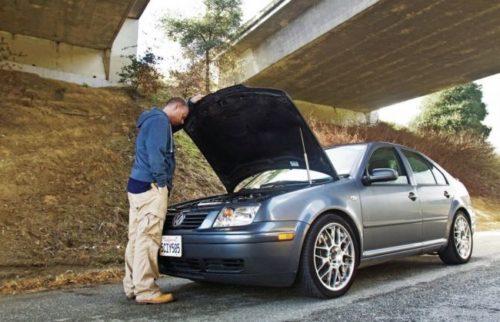 Автомобиль заглох и не заводится