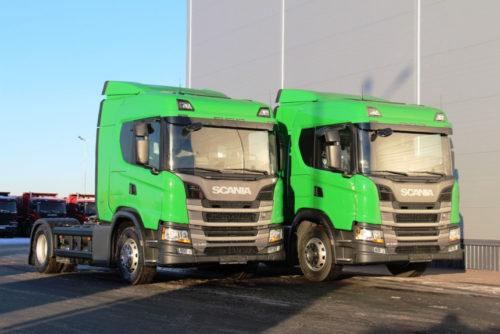 Газовый тягач Scania
