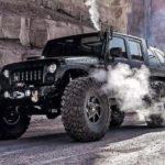 Jeep Wrangler с паровым двигателем и шестью колесами