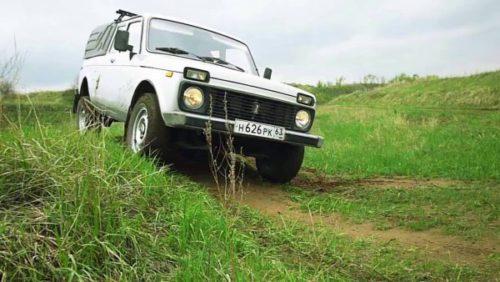 Lada 4x4 грязи не боятся