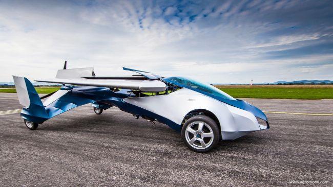 Летающие автомобили - миф или реальность
