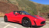 Разгон Tesla Roadster — пассажиры в ужасе