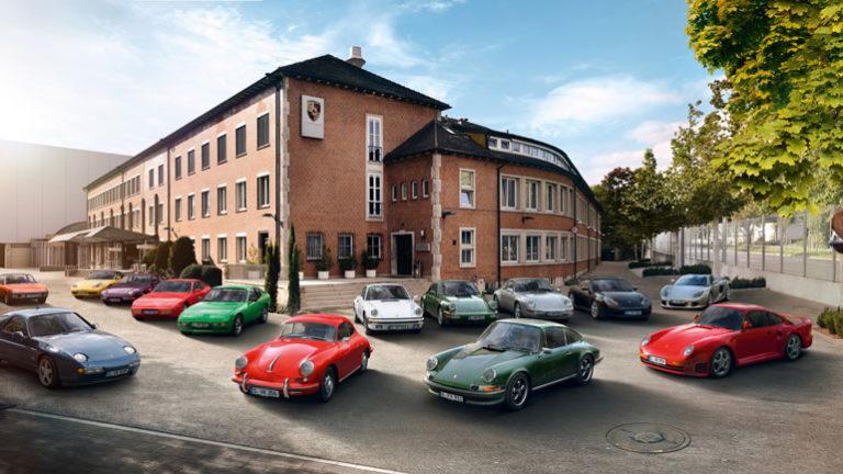 Система слежения за авто от Porsche