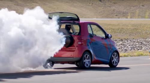 Smart с 2000-сильным двигателем