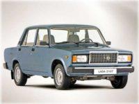 Советский автомобиль ВАЗ 2107