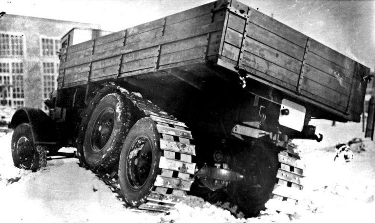 Советский грузовик ЯГАЗ