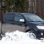 Toyota Hilux и VW Amarok – снежные барсы