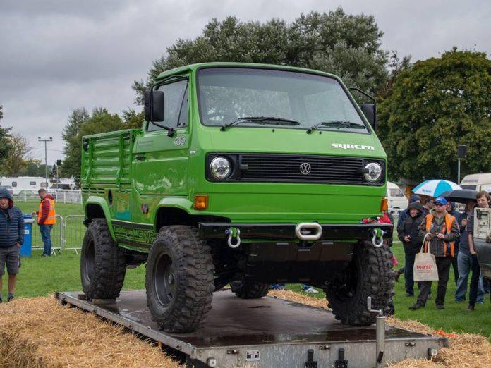 Volkswagen Т3 превратили в внедорожник