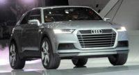 Заряженный кроссовер Audi SQ2