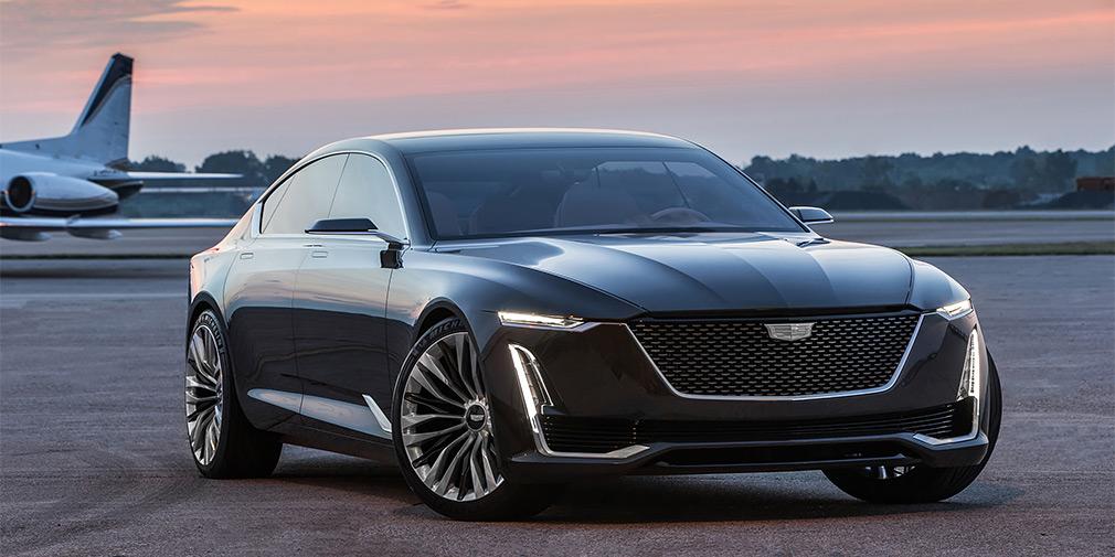 Электрокар GM Cadillac  конкурент Tesla