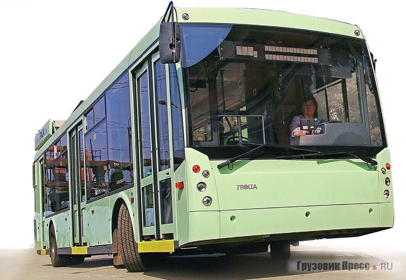 Гибридный автобус  с газотурбинным двигателем