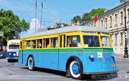 История Троллейбусы
