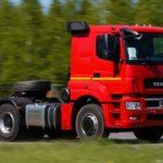 КАМАЗ с интеллектуальной транспортной информационной системой