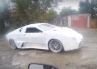 Кулыбины из ВАЗ-2108  сделали суперкар Lamborghini