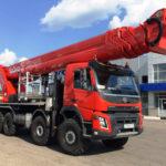 Лесовозы и подъемники Volvo Trucks для России