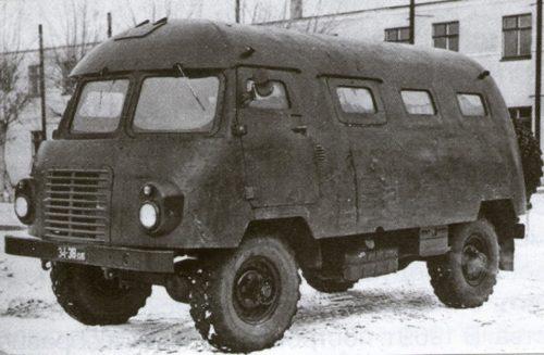 Неизвестное Автобус для ядерной войны