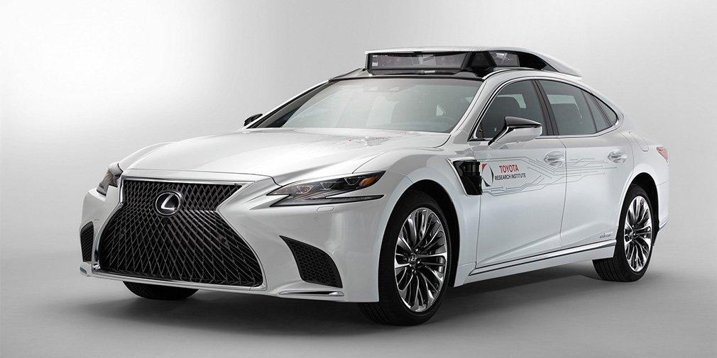 Новый беспилотный Lexus
