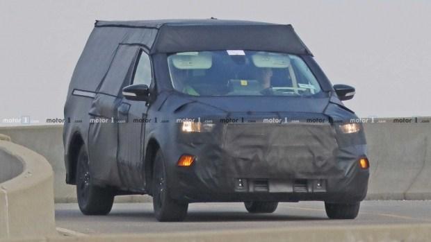 Пикап  Ford на базе Focus
