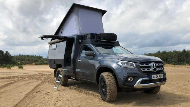 Пустыня и Автофургон Mercedes X-Class