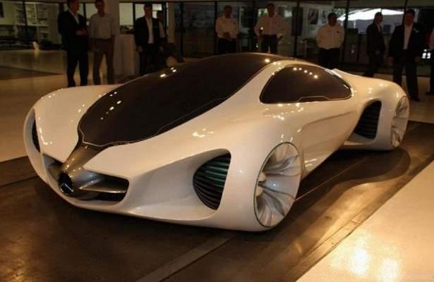 Самый безопасный концепт-кар  Mercedes-Benz