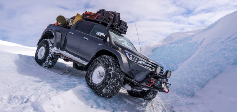 Шины Nokian в арктических льдах