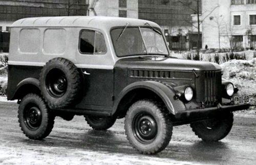 Советские опытные автомобили - ГАЗ-19 и ГАЗ-19А