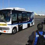 Тесты беспилотных автобусов в Токио