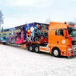 Транспортировка главных ёлок в России и США