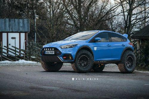 Внедорожник Ford Focus RS