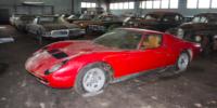 Заброшенная богатая коллекция автомобилей