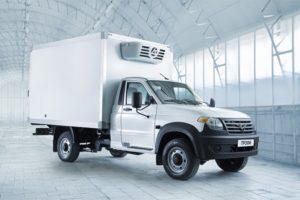 Новый  фургон  УАЗ «Профи» на газе