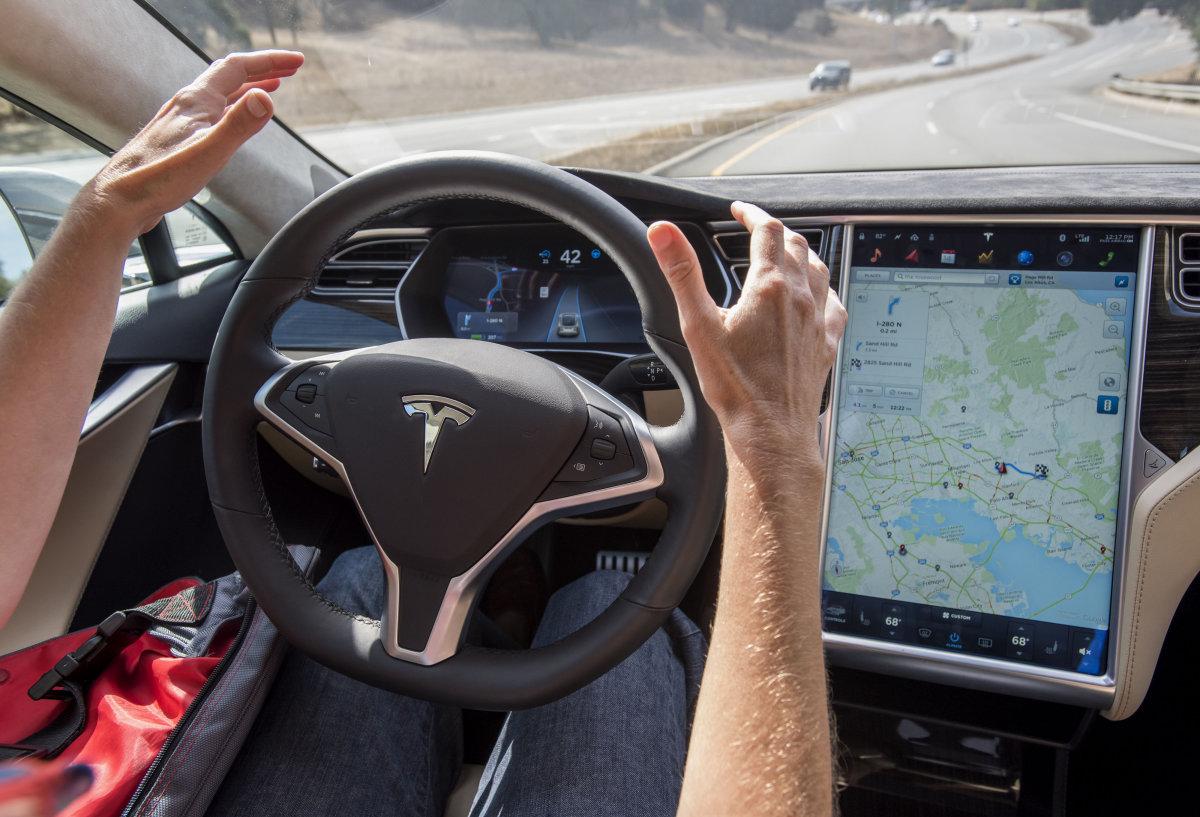 Новая система безопасности от Tesla