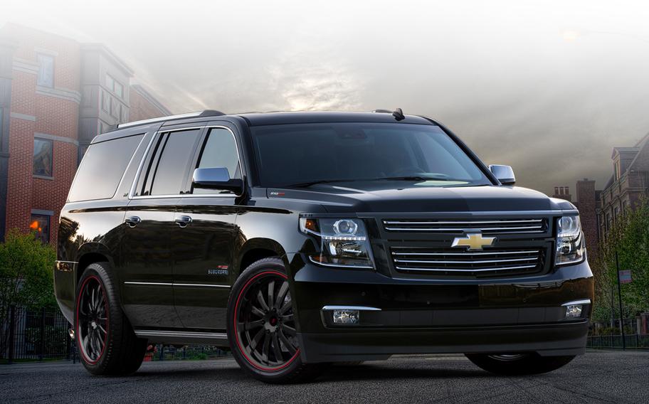1000-сильные Chevrolet Tahoe и Suburban