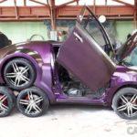 8-колесный седан Toyota. Видео