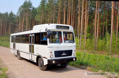 Автобус МАЗ для Африки