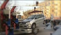 Смоленск. Автоэвакуация
