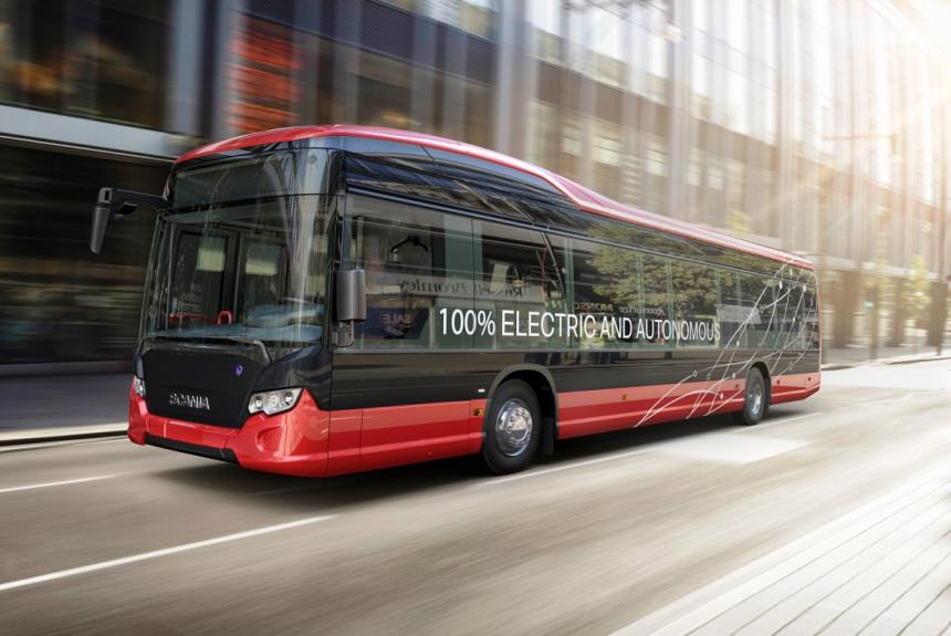 Беспилотные электробусы в столице Швеции