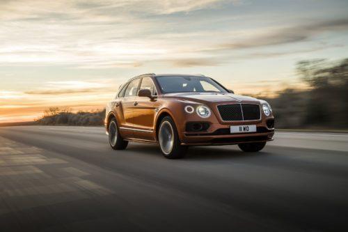 Быстрый и мощный внедорожник Bentley
