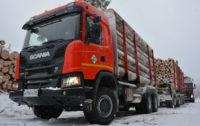 Два эксклюзивных тягача Scania по заказу