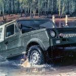 Джип-амфибия ВАЗ-2122 «РЕКА»
